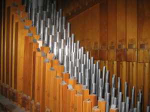 Pipe organ at St. Mark's United Church