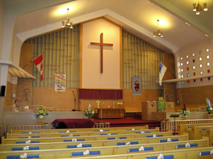 Sanctuary of St. Mark's United Church